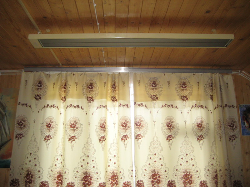 отопление дачи, загородного дома потолочными обогревателями