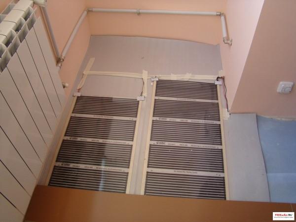 инфракрасная пленка для обогрева балкона