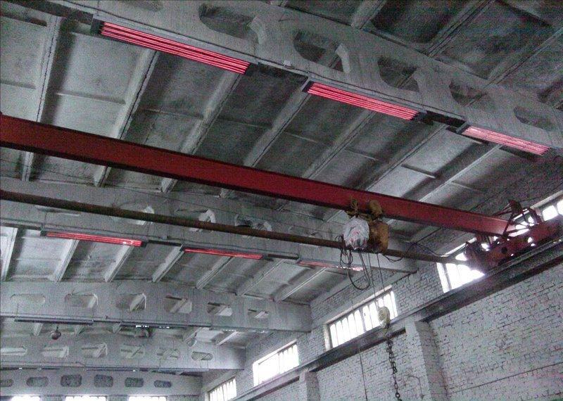 оптимальный решением для отопления производства служит промышленный инфракрасный обогреватель