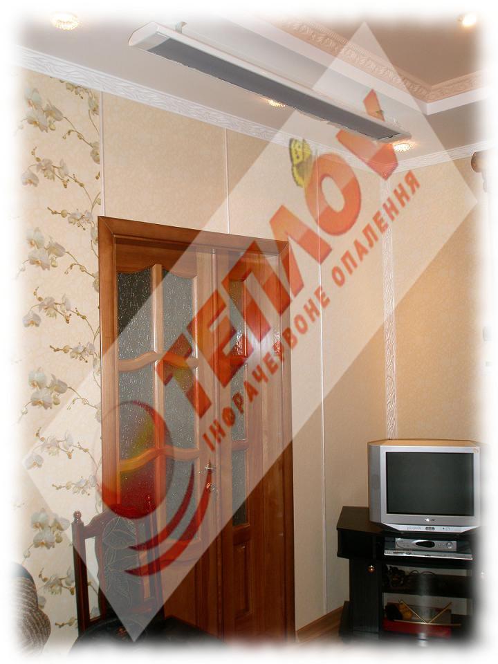 отопление дома инфракрасными обгревателями