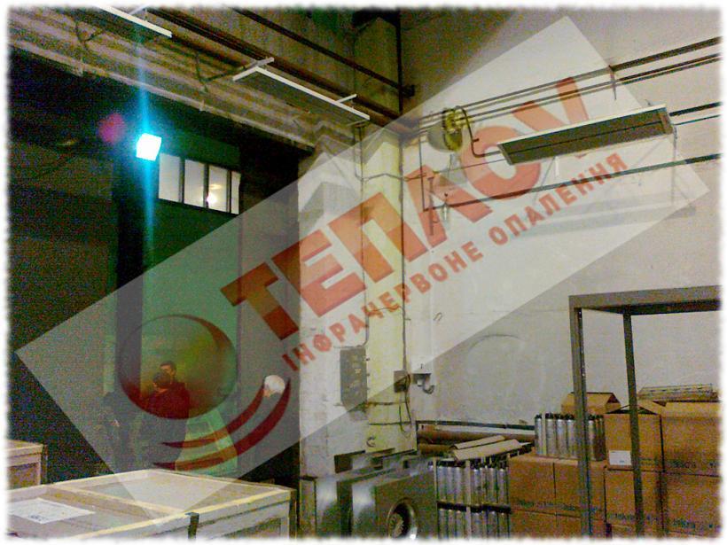 экономичное отопление склада электричеством без газа