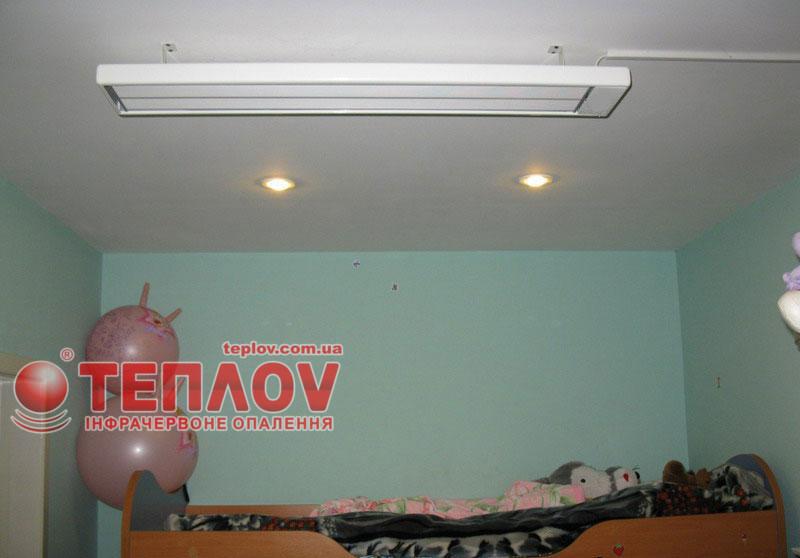Электрические потолочные панели для отопления дома без газа