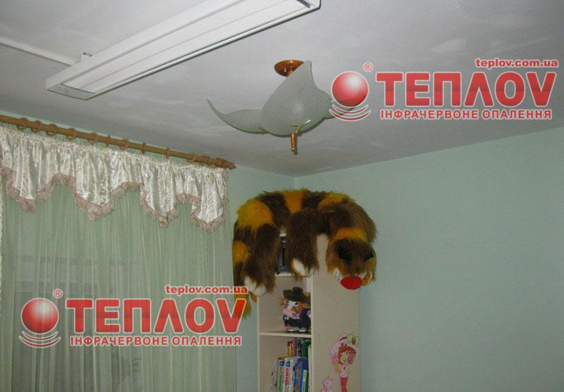 Для электрического отопления дома используют инфракрасные обогреватели