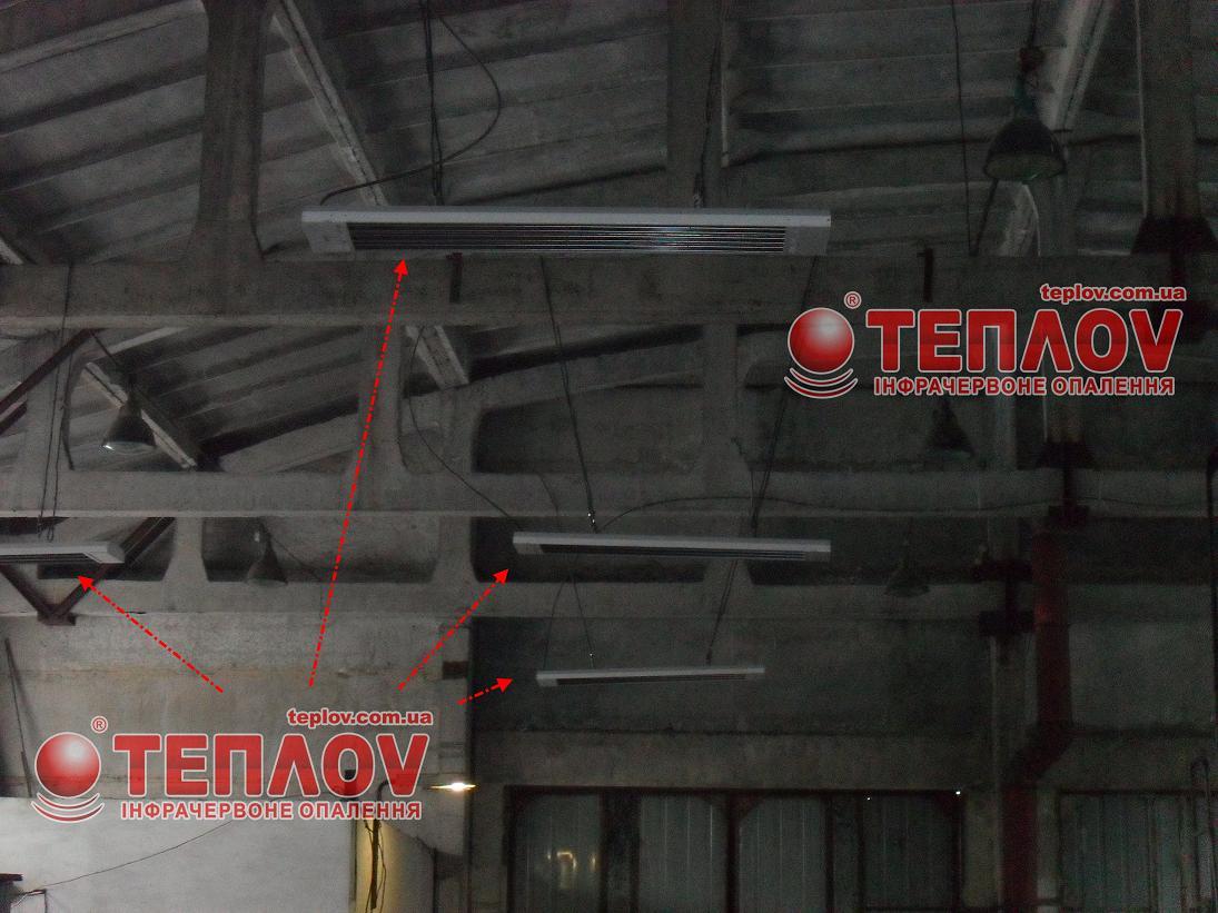 промышленный электрообогрев производственных помещений инфракрасными системами