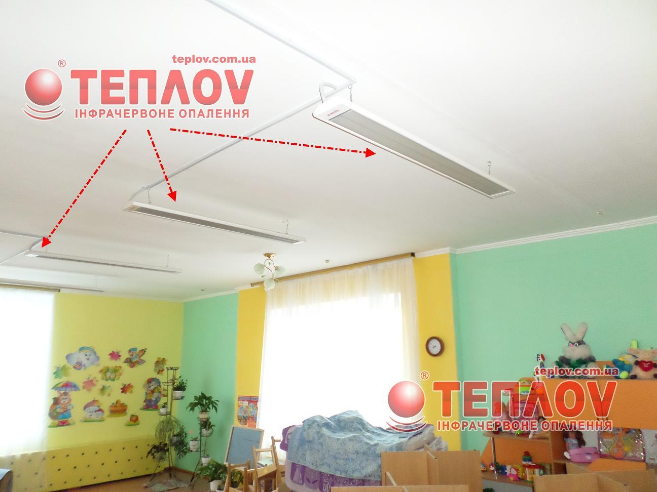 отопление для детского сада безопасными обогревателями