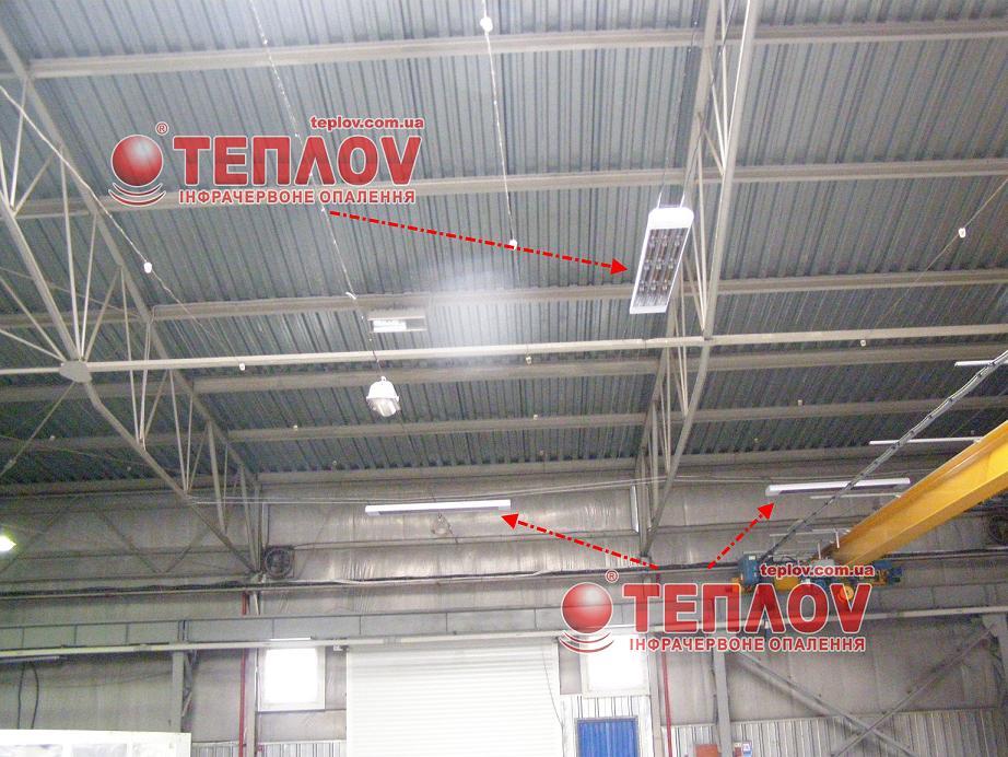 отопление производственных зданий электрическими инфракрасными обогревателями