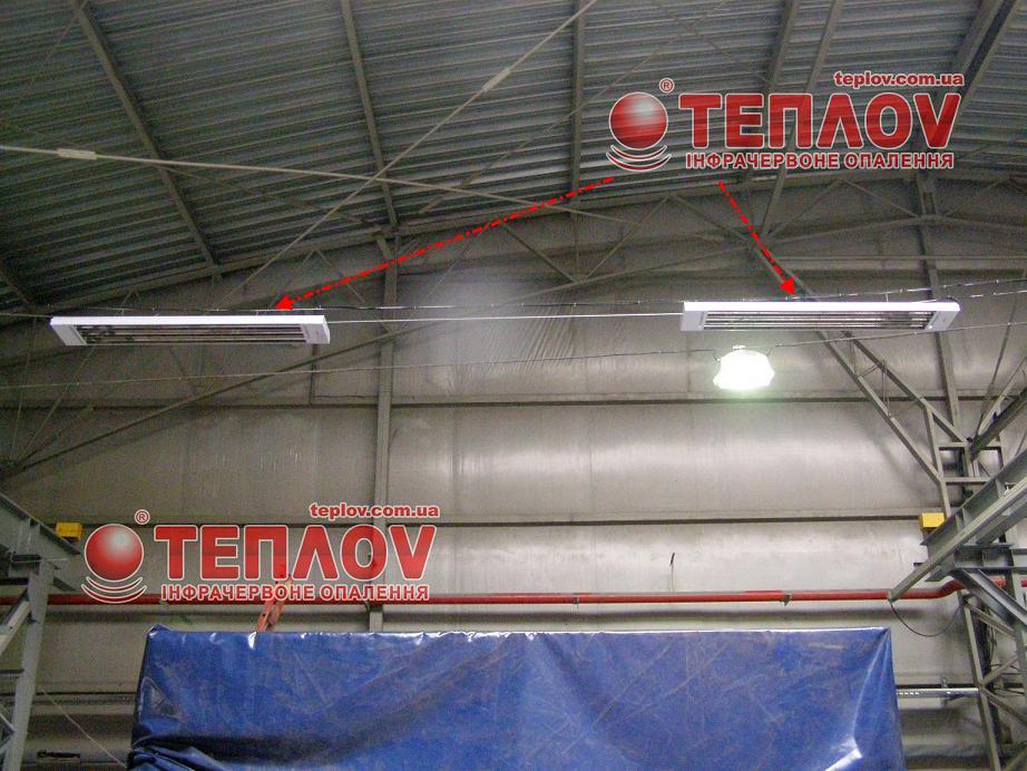 отопление промышленных предприятий электрическими обогревателями Теплов