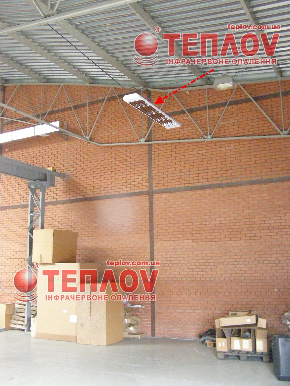 отопление промышленных зданий промышленными электрическими инфракрасными панелями