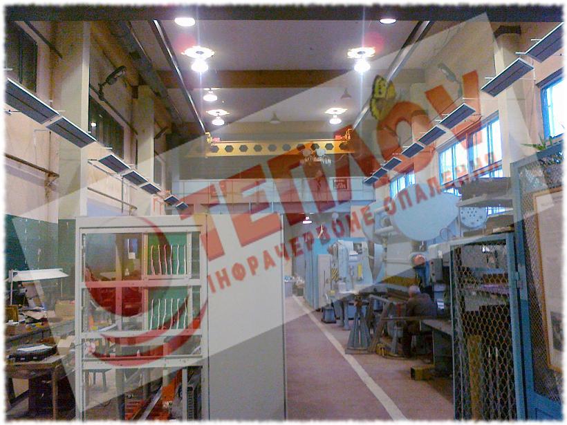 отопление производственного помещения