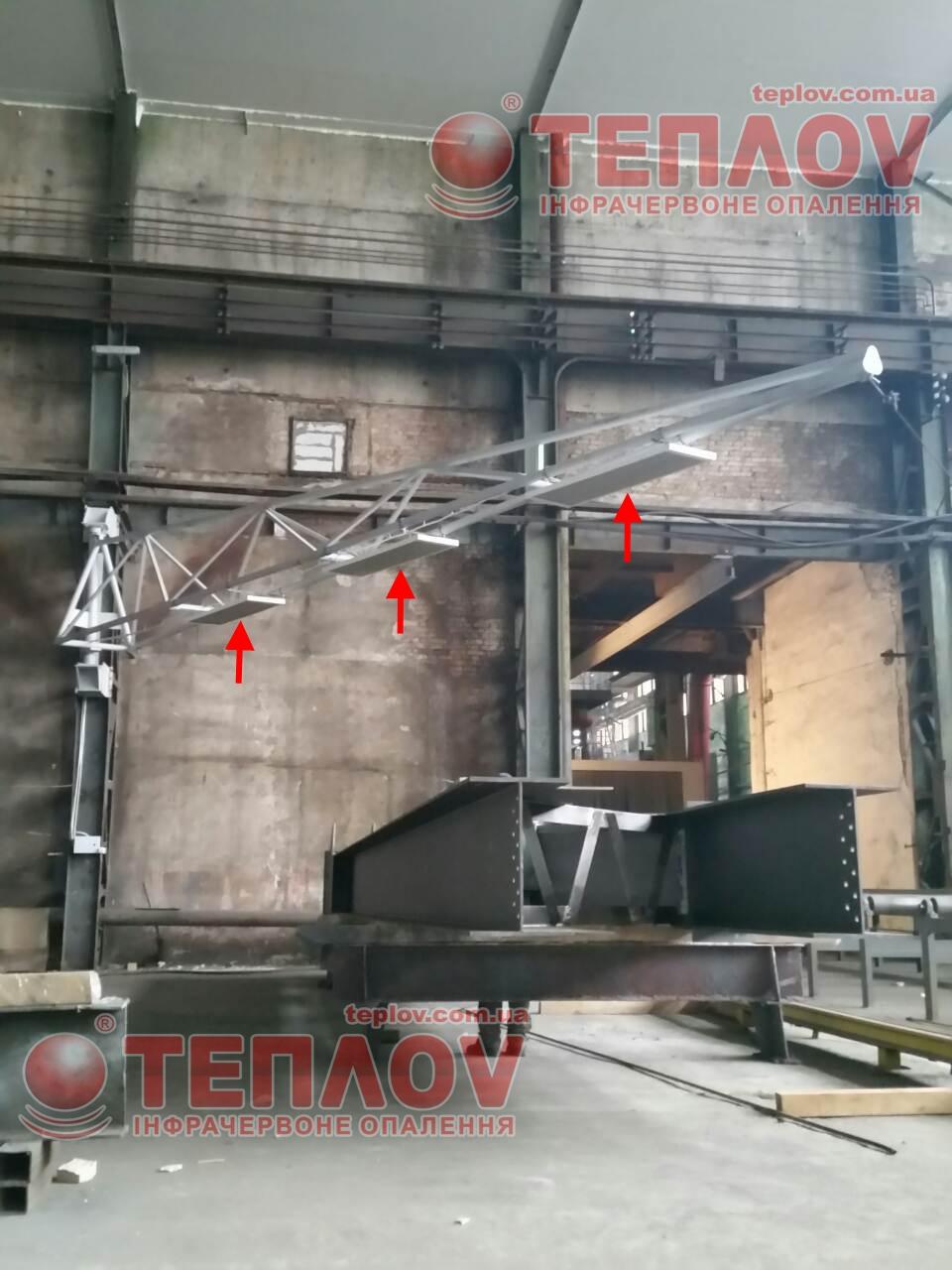 Отопление цеха житомирского бронетанкового завода