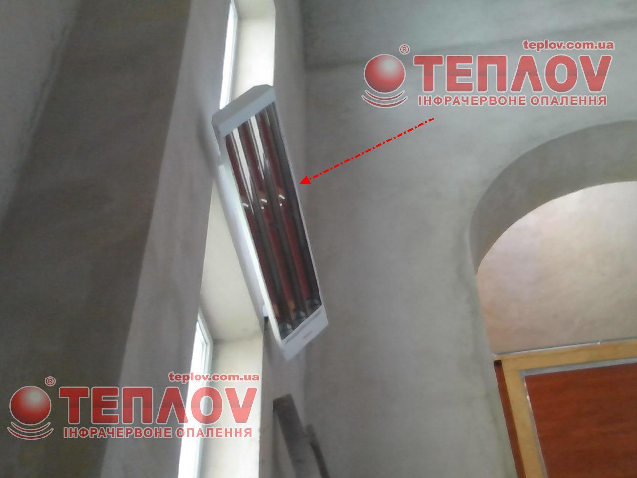 отопление храма инфракрасными обогревателями