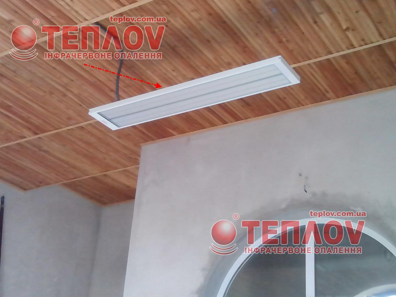 для электрического отопления храма применяют потолочные панели