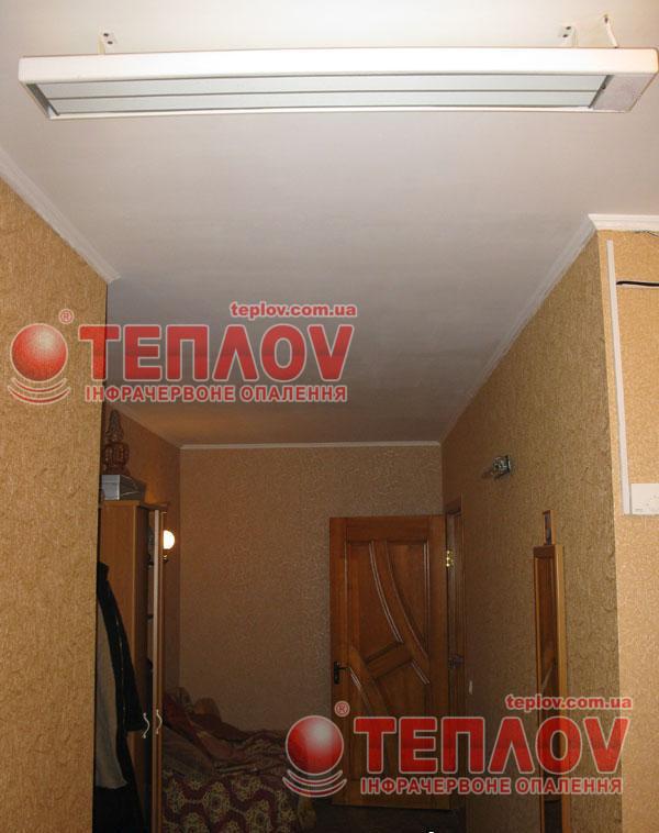 отопление загородного дома без газа потолочными панелями Теплов