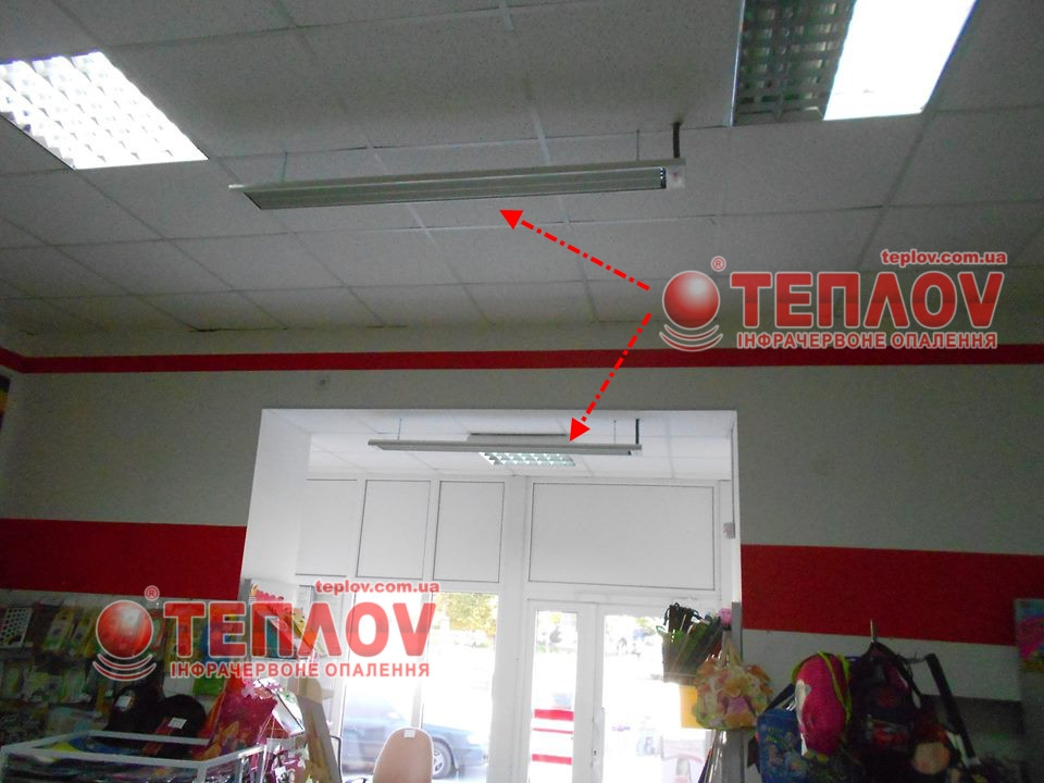 отопление магазина электрическими обогревателями