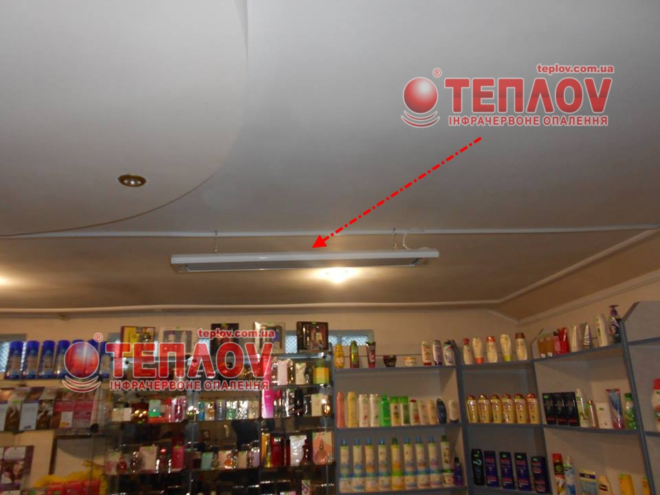 автономное отопление магазина без газа электрическими обогревателями Теплов