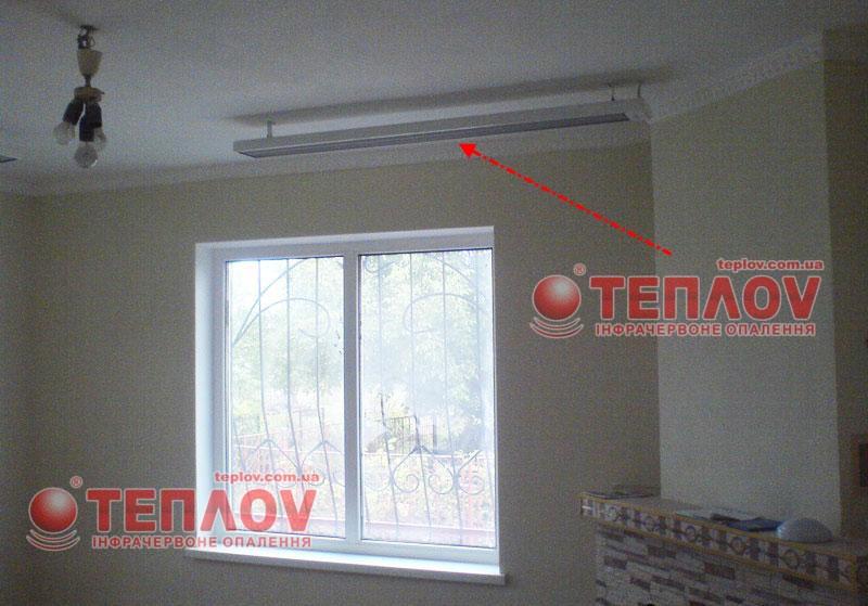 потолочное отопление дачи электричеством
