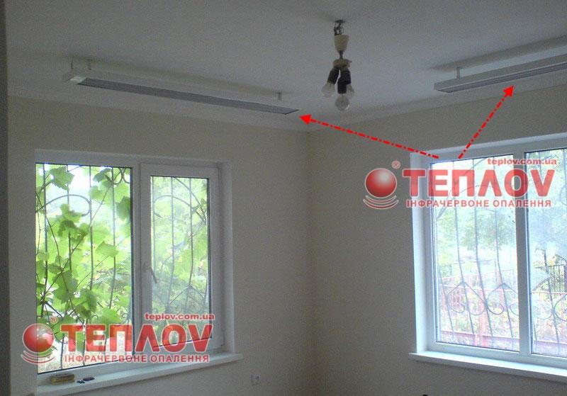 энергосберегающее отопление дома инфракрасными обогревателями