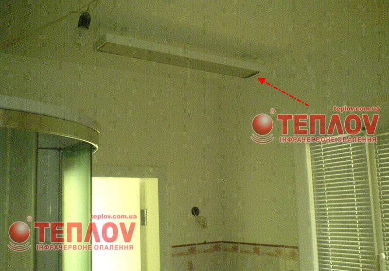 Для отопления дачи своими руками обратите внимание на потолочные обогреватели