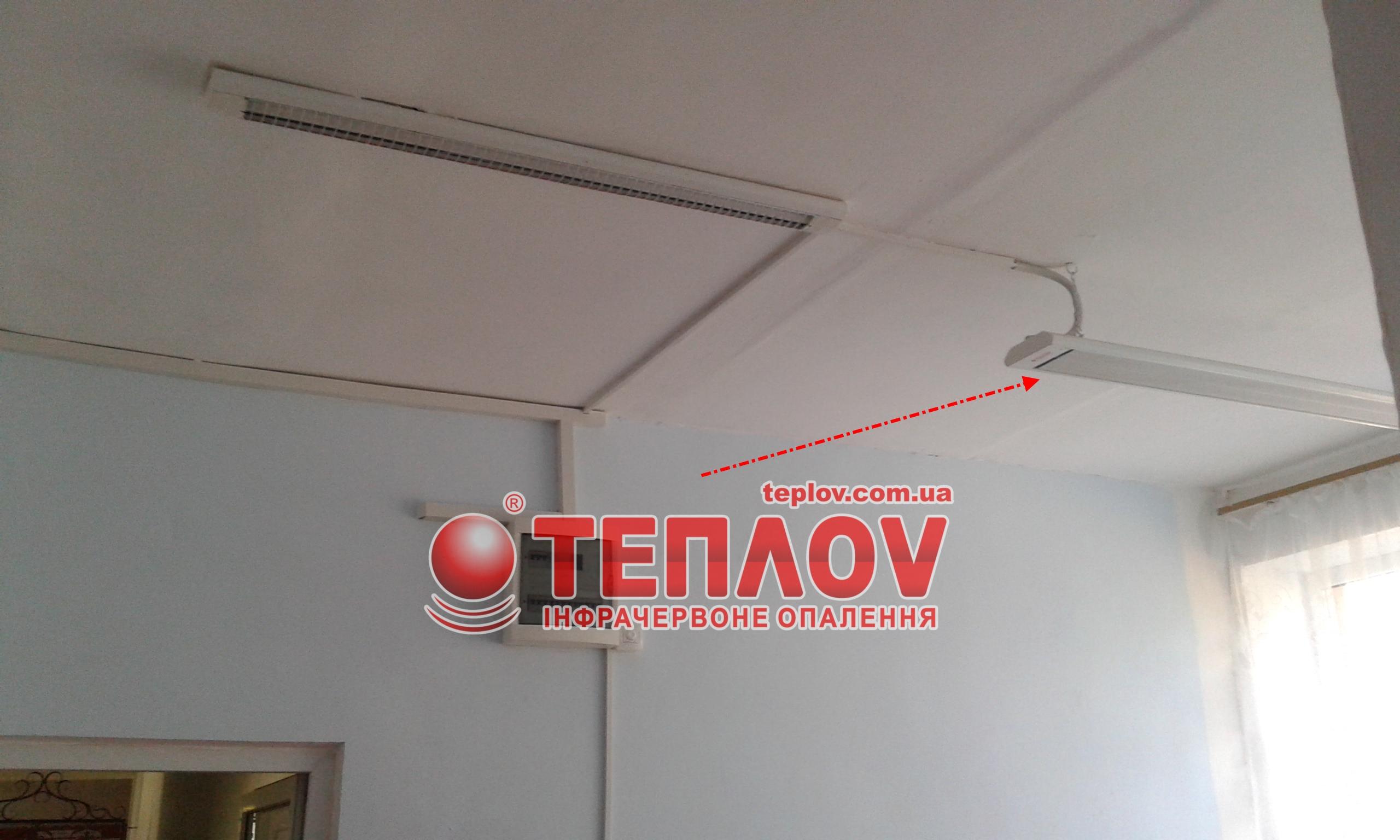 отопление школы инфракрасными панелями