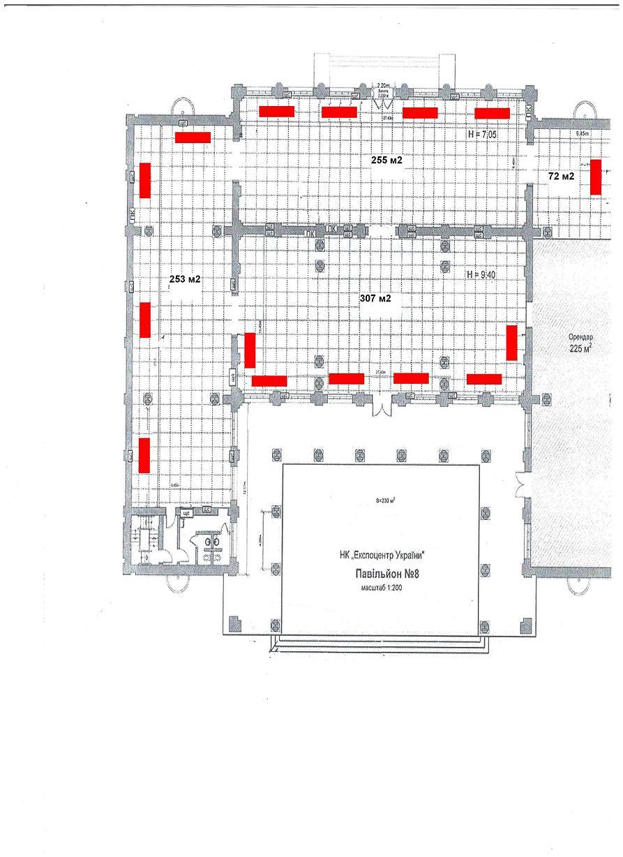 экономичное отопление выставочного зала инфракрасными ообогревателями