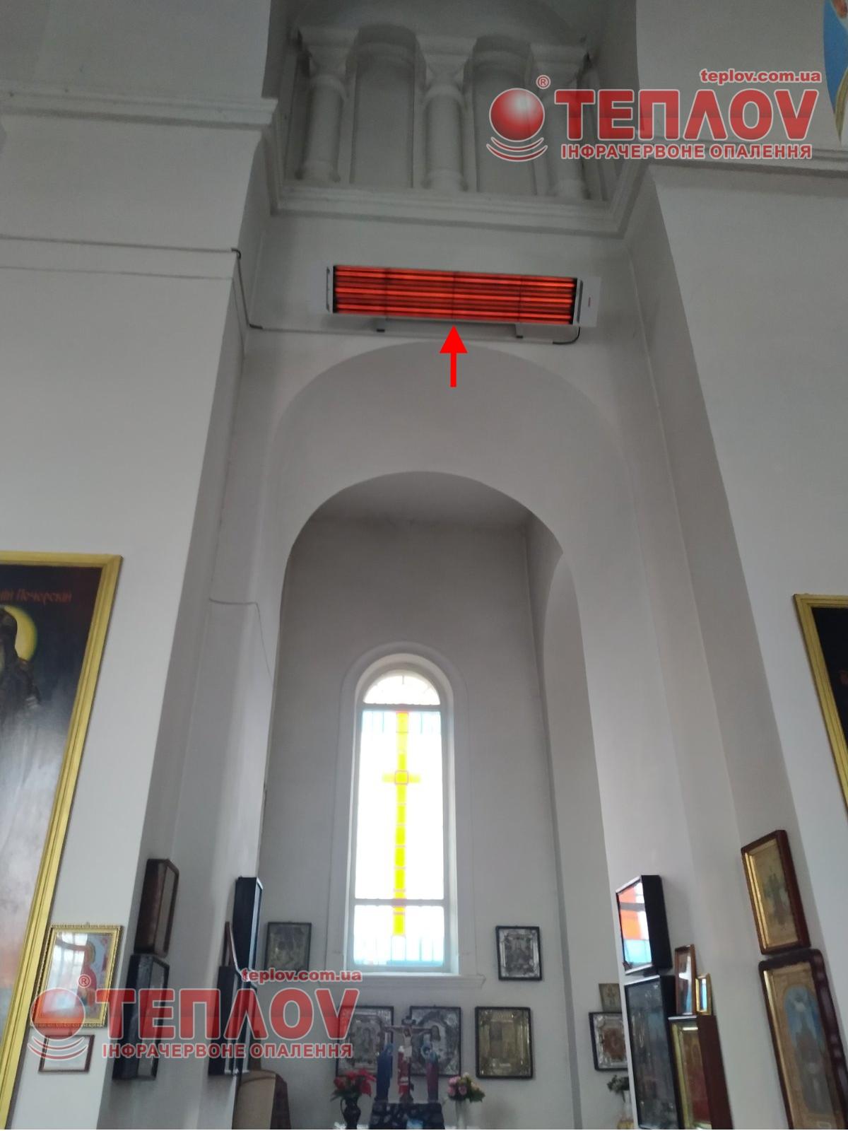 Отопление церкви, храма, собора
