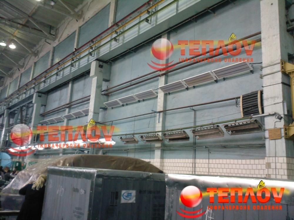 отопление промышленного помещения Зоря-Машпроект