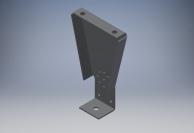 Кронштейн настенный поворотный для Б600/Б1000/Б1350 - Teplov